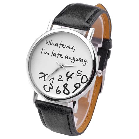 Whatever I M Late Anyway Uhr by Whatever I M Late Anyway Uhr Ab 6 98 G 252 Nstig Kaufen 11 2018