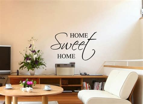 Home Sweet Home Deco by Stickers Home Sweet Home Dans Une Version Plus Carr 233 E