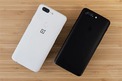 oneplus one oneplus 5t now available in sandstone white finish the verge