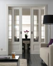 French Glass Pocket Doors