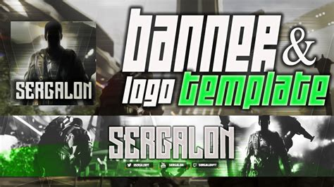Banner Template Call Of Duty Infinite Warfare by Cod Infinite Warfare L Banner Template 3 Psd Free