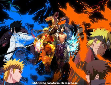 Special Naruto Vs Sasuke Wallpapers