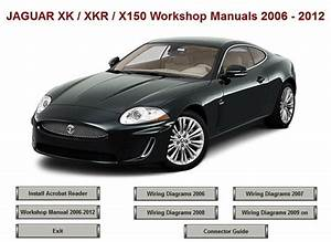 Jaguar Xk Xkr X150 Workshop Repair Manual 2006