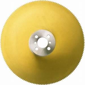 Scie Circulaire Acier : lame de scie circulaire m taux en acier coupe rapide ~ Edinachiropracticcenter.com Idées de Décoration