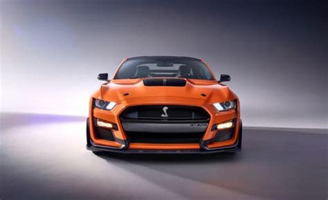 ford mustang shelby gt revealed supercharged