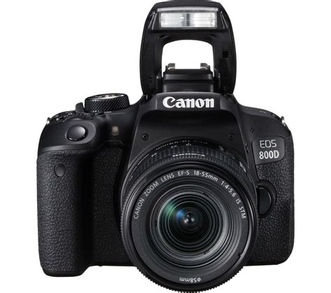 Buy Canon Eos 800d Dslr Camera With 1855 Mm F456 Is