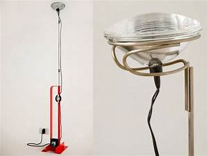 bassamfellows atelier castiglioni With toio floor lamp white