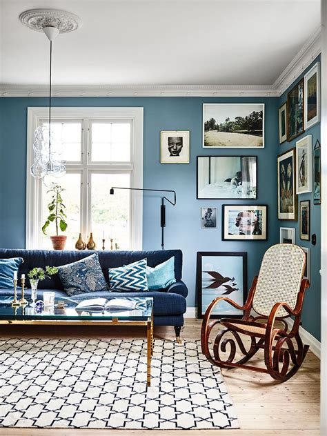 Blau Wohnzimmer by Journal Inspiring Interiors A For Blues