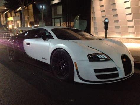 Bugatti Builds The Veyron 16.4 Super Sport 'pur Blanc