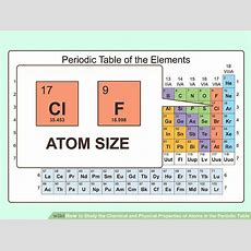 3 Ways To Study The Chemical And Physical Properties Of Atoms In The Periodic Table
