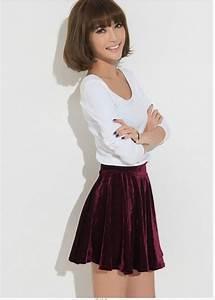 Short Pleated Skirt - Dress Ala