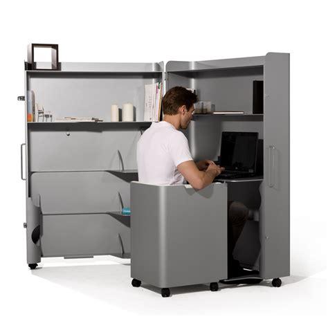 bureau qui se ferme armoire bureau box office par myfab