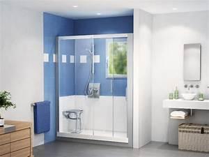 Transformer Baignoire En Douche : comment remplacer sa baignoire par une douche plombier ~ Dallasstarsshop.com Idées de Décoration