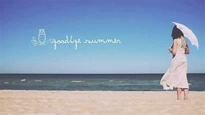 Goodbye Summer Saying Community Save