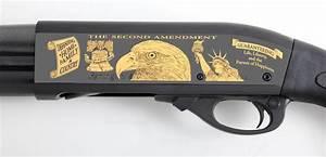 Second Amendment Remington Tribute Shotgun America Remembers