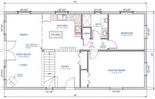 open floor plans with loft 1056 sqft 24 39 x44 39 a