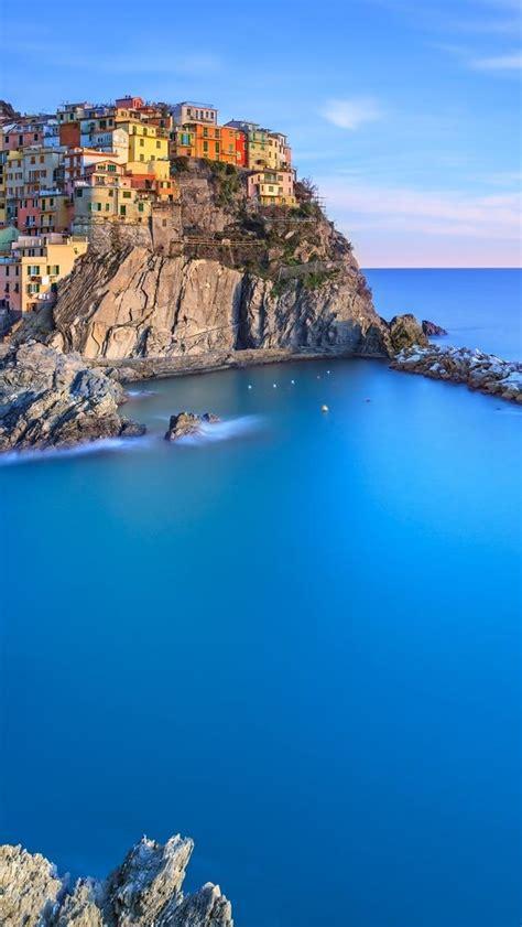 海边的小镇高清IPhone5s手机壁纸免费下载-风景-3g壁纸大全