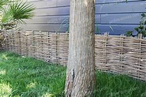 Bordure De Jardin Bois : bordure de jardin acacia tress e bordure de jardin ~ Premium-room.com Idées de Décoration