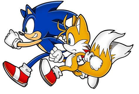Sonic And Tails By Daggerslashs On Deviantart