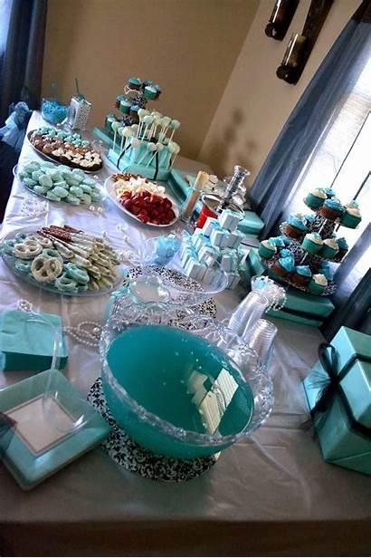 Bridal Shower Tiffany Desserts Breakfast Themed Showers