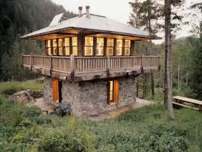 cool cabin plans inside lookout towers tower cabin plans cool tiny houses mexzhouse