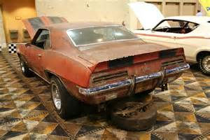 project camaros for sale 1969 camaro rs z28 barn find information on collecting cars legendary collector cars