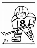 Coloring Hockey Olympic Printable Kid Pages Olympics Player Cartoon Nhl Sports Printables Alphabet Goalie Cliparts Clipart Print Team Hebrew Activities sketch template