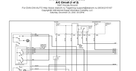 Honda Accord Circuits System Wiring Diagrams