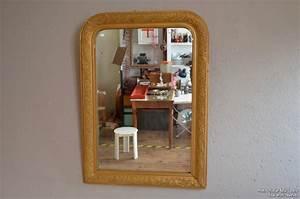 Grand Miroir Vintage : grand miroir louis philippe l 39 atelier belle lurette r novation de meubles vintage ~ Teatrodelosmanantiales.com Idées de Décoration