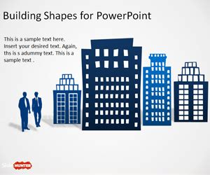 office building shapes  powerpoint