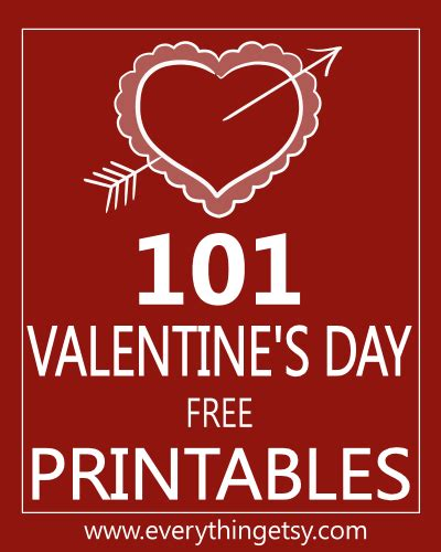 Valentine's Craft for Kids Printable