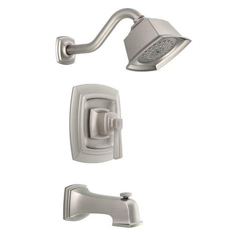 moen boardwalk single handle tub shower faucet w single