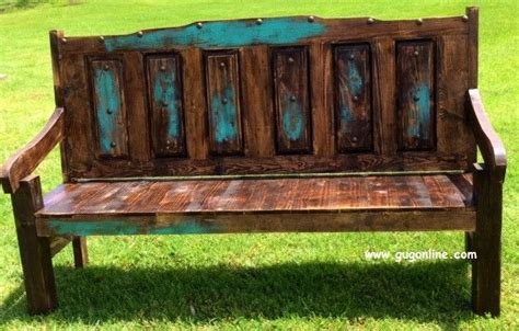 kitchen cabinet refinishing handmade rustic juarez bench with distressed back bench 5718