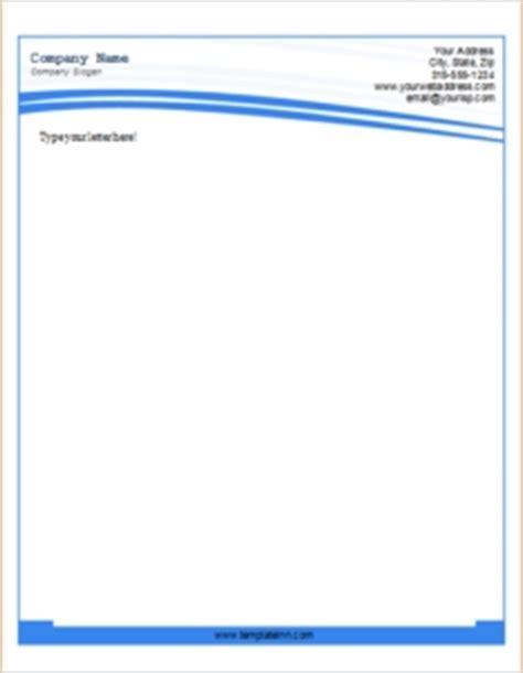 business letterhead template word beepmunk