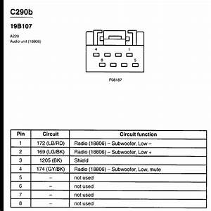 2007 Ford Escape Radio Wiring Diagram