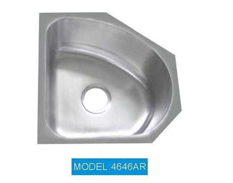 Stainless Corner Sink Lavella Corner Kitchen Sink With