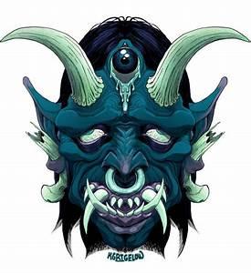 Demon Japonais Dessin : sick oni by on deviantart deviantart stuff pinterest tatouage ~ Maxctalentgroup.com Avis de Voitures