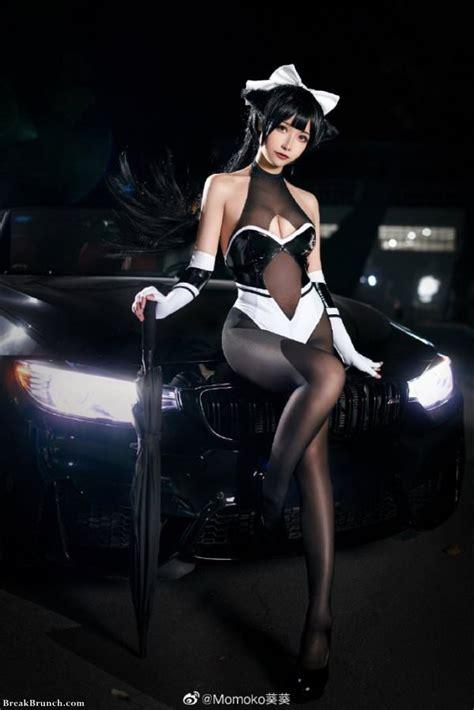 sexy azur lane cosplay pictures  momoko breakbrunch