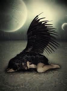 Gothic Dark Male Fallen Angel