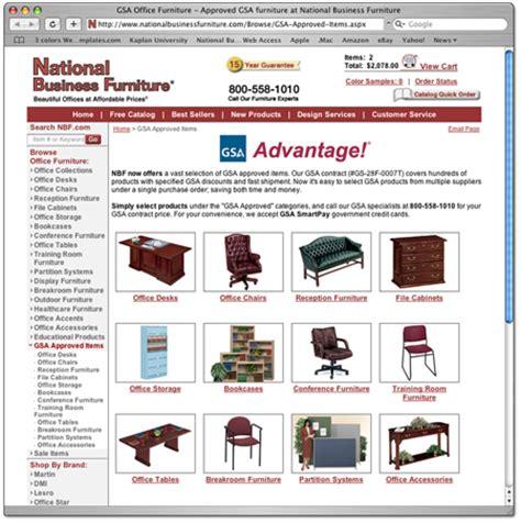 national business furniture awarded gsa office furniture