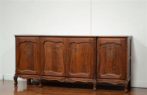Country Sideboards by 850 1 Large Antique Oak Country 4 Door Sideboard