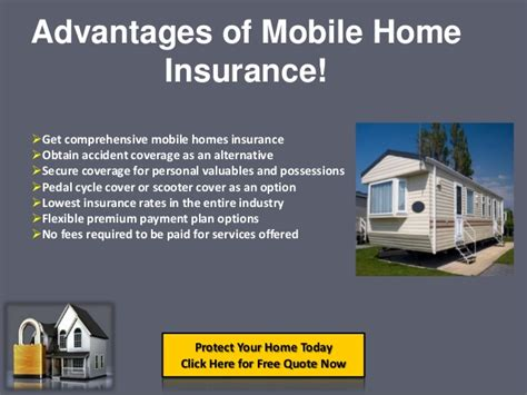 Mobile Home Insurance Quotes Online, Get Cheapest Rates On