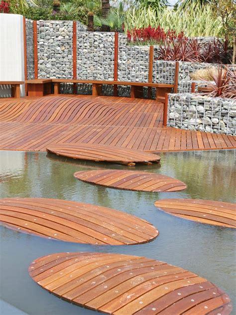 unique deck designs  break  mold