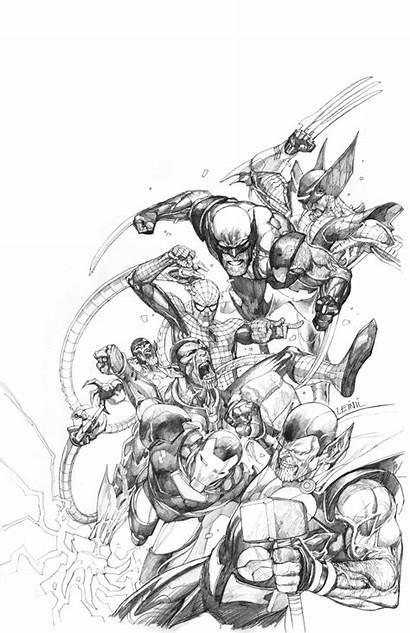 Yu Leinil Marvel Comics Guide Leinilyu Deviantart