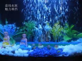 fish tank decorations with bubbles color changing led ring led aquarium decorations
