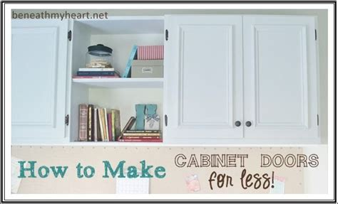 how to make your own kitchen cabinets how to make your own cabinet doors i am cabinets and