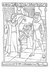 Coloring Pharaoh Egypt Prince Pages Moses Magician Facing Clipart Sheet Easy Coloringsun Clip Library Sun Popular Button Through Print Zapisano sketch template