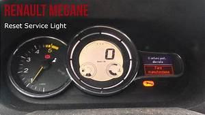 Renault Megane Reset Service Light