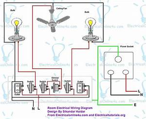 Simple Wiring Diagram For A Room