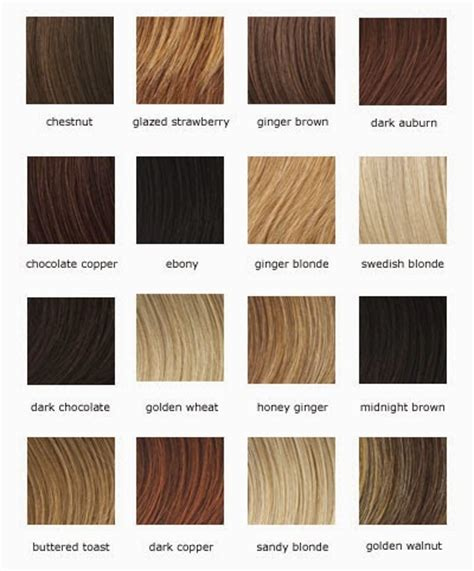 Hair Color Shades Of Chart by Light Brown Hair Color With Highlights Hair Fashion